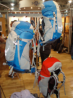 Osprey Sprint Series backpacks