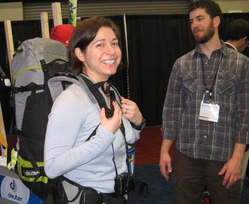 Alicia's liking this Deuter pack