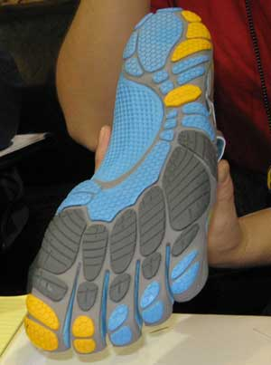 Vibram Five Fingers running shoe sole