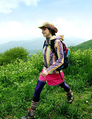 High Fashion Yama Girls Bring Style To The Mountains
