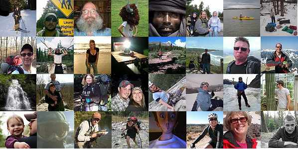 The Diverse Trailspace Community.