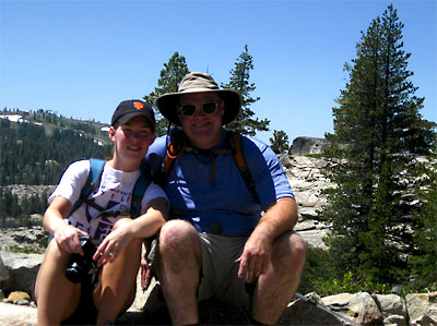 Al and Elizabeth, Summit Lake Trail, Donner Summit, CA
