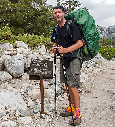 Bill on the John Muir Trail