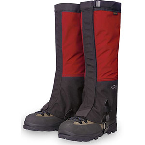photo of a gaiter/overboot