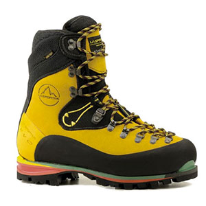 photo of a mountaineering boot