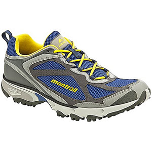 photo of a trail running shoe