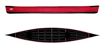 photo: Ally Canoes Model 715 18.5' folding canoe
