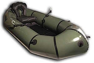photo: Alpacka Raft Fjord Explorer packraft