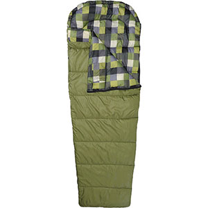 photo: Alpine Design 45-degree Micro Lite Mesa Rec Bag warm weather synthetic sleeping bag