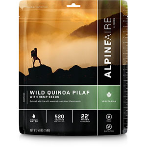 AlpineAire Foods Wild Quinoa Pilaf With Hemp Seeds