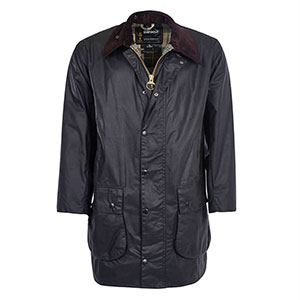 photo: Barbour Border Wax Jacket waterproof jacket