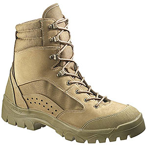 photo: Bates Hot Weather Combat Hiker backpacking boot