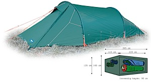 photo: Bergans Compact 2 three-season tent