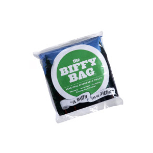 photo of a Biffy Bag waste and sanitation supply/device