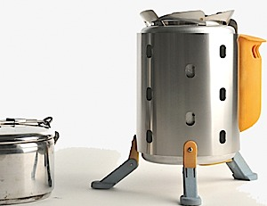 photo of a BioLite stove