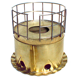 photo: Brasslite Turbo II-D alcohol stove