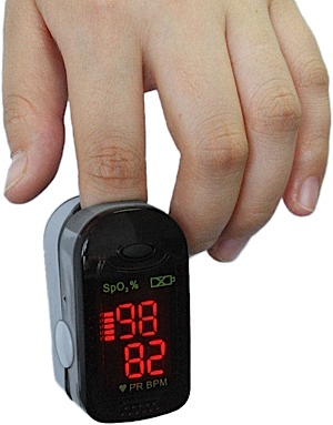 Brooks-Range Finger Pulse Oximeter