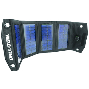photo: Brunton Explorer solar charger