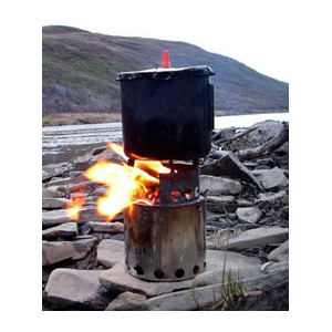 photo: Bushbuddy Ultra solid fuel stove