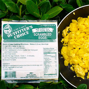 photo: Cache Lake Foods Outfitter's Choice Scrambled Eggs breakfast