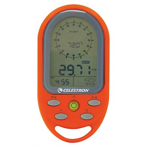 photo of a Celestron handheld altimeter