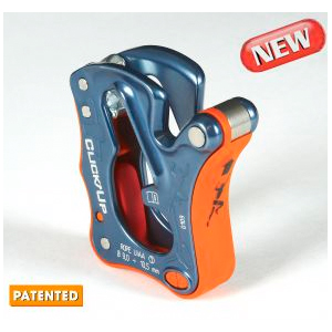photo: Climbing Technology Click Up belay/rappel device
