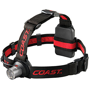 photo: Coast HL4 Dual Color LED Headlamp headlamp