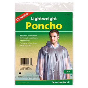 photo: Coghlan's Lightweight Poncho waterproof jacket