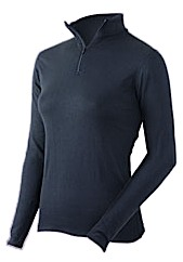 photo: Coldpruf Women's Extreme Performance Mock Zip base layer top