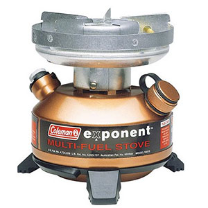 photo: Coleman Exponent Multi-Fuel Stove multi-fuel stove