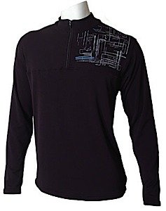 photo: Core Concepts Brrr Dude Zip Neck base layer top