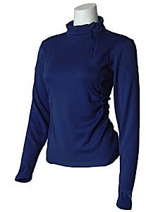 photo: Core Concepts Full Tilt Zip Neck base layer top