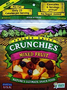 Crunchies Freeze-Dried Mixed Fruit