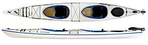 photo: Current Designs Double Vision Tandem touring kayak