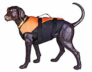 photo of a D-Fa dog life jacket