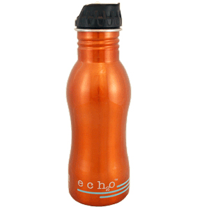 EcoUsable Ech2o Filtered Water Bottle 18 oz