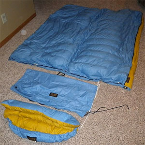 Eddie Bauer Vintage 0 Down Sleeping Bag Quilt