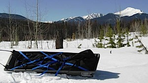 photo of a Ed's Wilderness Systems sled/pulk
