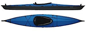 photo of a Feathercraft folding kayak