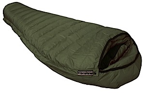 photo: Feathered Friends Ibis 3-season down sleeping bag