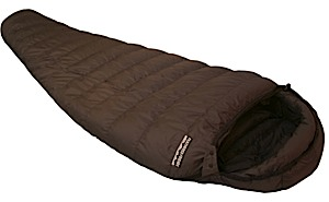 photo of a Feathered Friends sleeping bag/pad