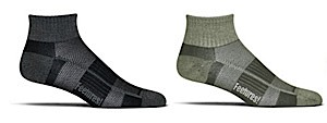 photo: Feetures! Bamboo and Wool Ultra Light Cushion Quarter Sock running sock
