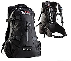 photo of a Geigerrig hydration pack