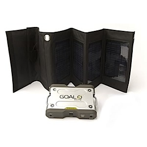 photo: Goal Zero Elite Sherpa 50 Adventure Kit solar charger
