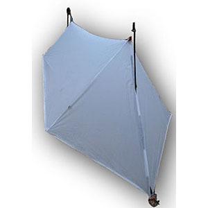 photo: Gossamer Gear SpinnShelter tarp/shelter