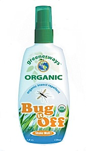 photo of a Greenerways Organic insect repellent