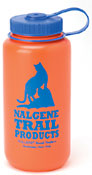 Nalgene HDPE water bottle