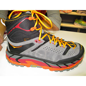 photo of a Hoka hiking boot