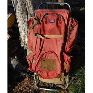 photo: JanSport D3 external frame backpack