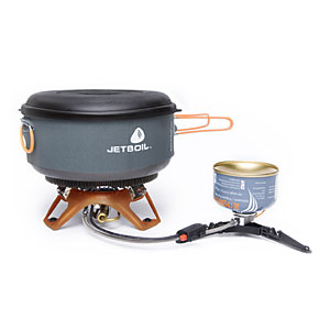 photo: Jetboil Helios compressed fuel canister stove